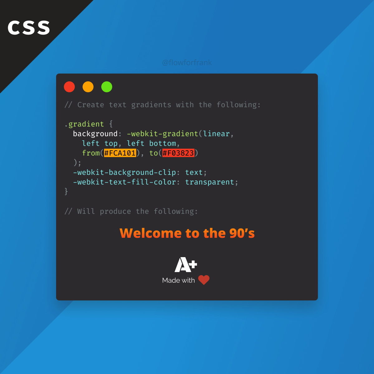 How To Create Gradient Texts In Css Weekly Webtips